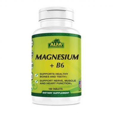 MAGNESIUM +B6