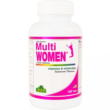 Multi women Alfa 100 tabletas