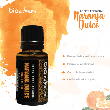 Aceite Esencial Naranja Dulce Bioactive